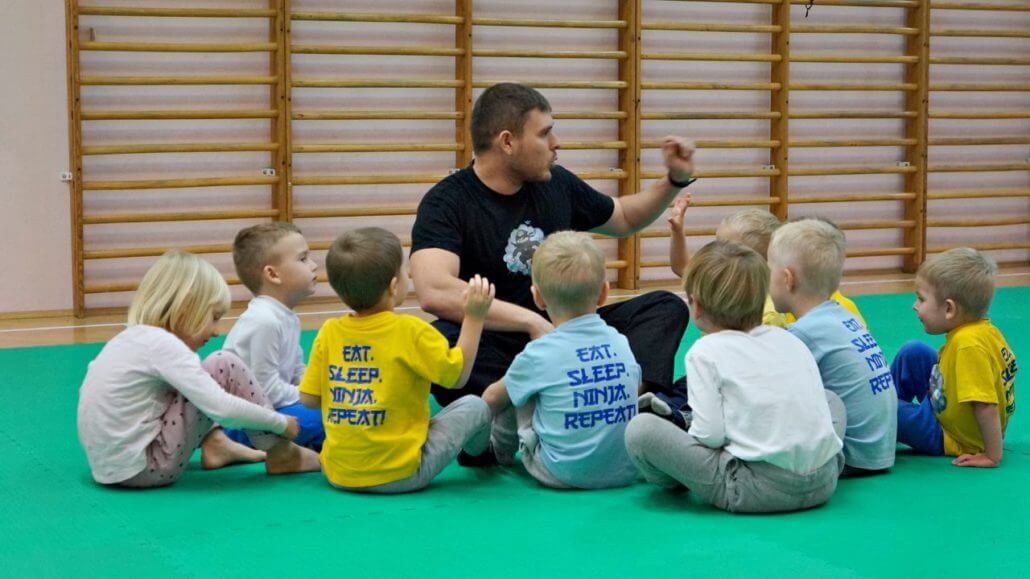 School of Martial Arts for Children - Warsaw - Training 1