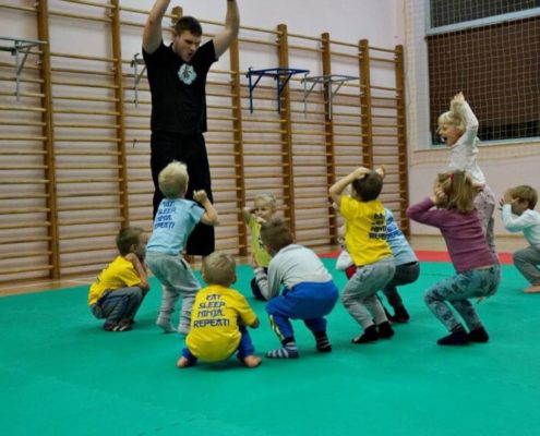 School of Martial Arts for Children - Warsaw - Training 2