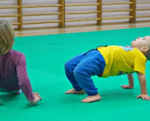School of Martial Arts for Children - Warsaw - Training 3