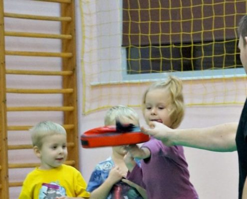 School of Martial Arts for Children - Warsaw - Training 4