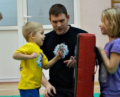 School of Martial Arts for Children - Warsaw - Training 5