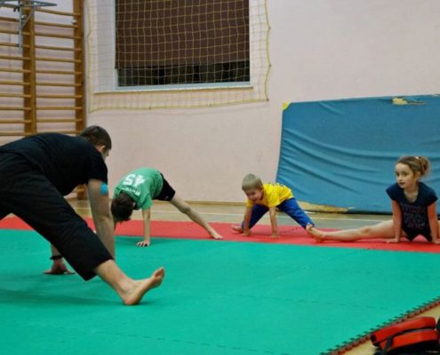School of Martial Arts for Children - Warsaw - Training 6