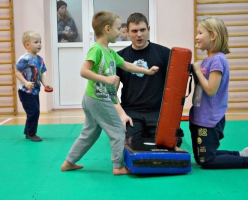 School of Martial Arts for Children - Warsaw - Training 7
