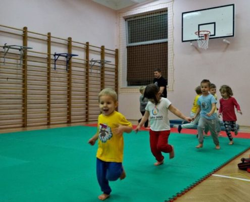School of Martial Arts for Children - Warsaw - Training 8