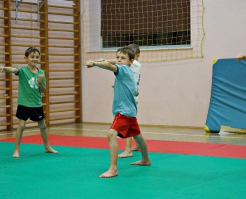 School of Martial Arts for Children - Warsaw - Training 9