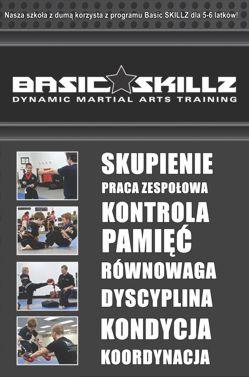 Szkoła sztuk walki dla dzieci - BASIC SKILLZ 5-6 lat - Warszawa