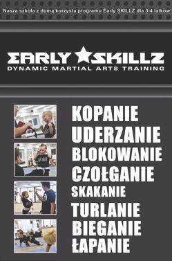 Szkoła sztuk walki dla dzieci - EARLY SKILLZ 3-4 lat - Warszawa