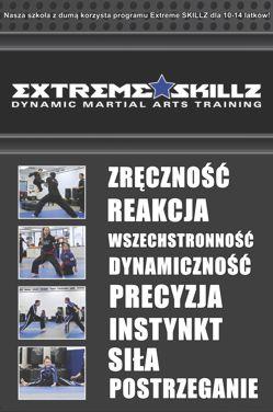 Szkoła sztuk walki dla dzieci - CORE SKILLZ 7-9 lat - Warszawa
